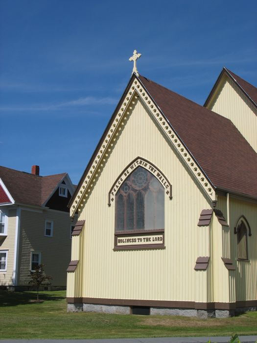 Mahone Bay Church Window