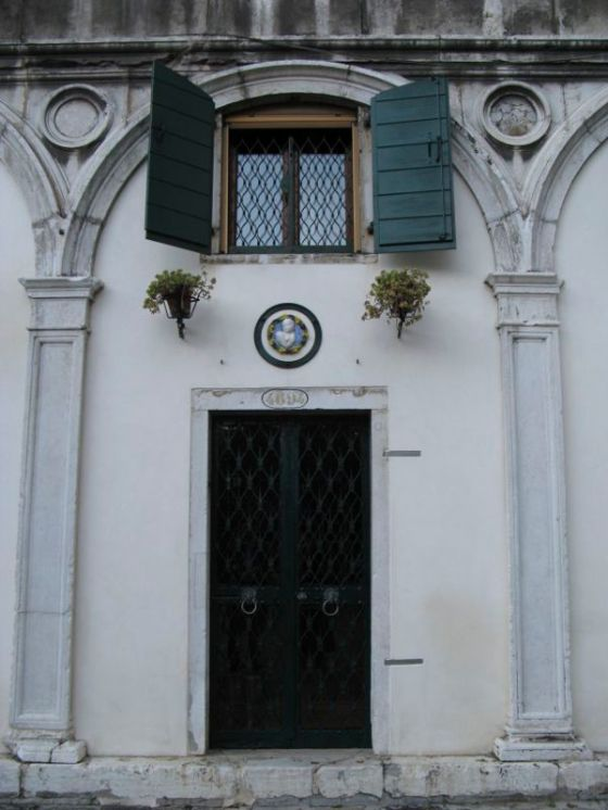 Venice doorway with medallion