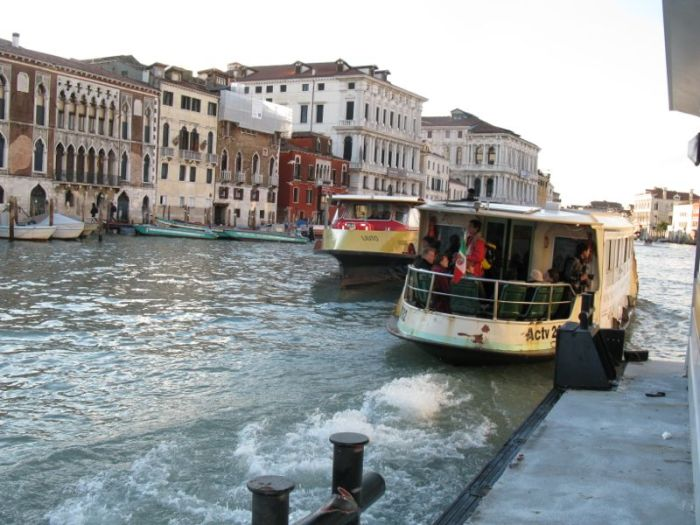 Venice Waiting for Vaparetto