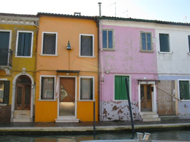 Burano Acqua Alta barriers