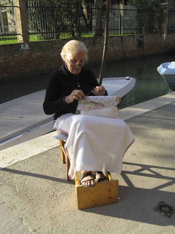 Burano lacemaker 1