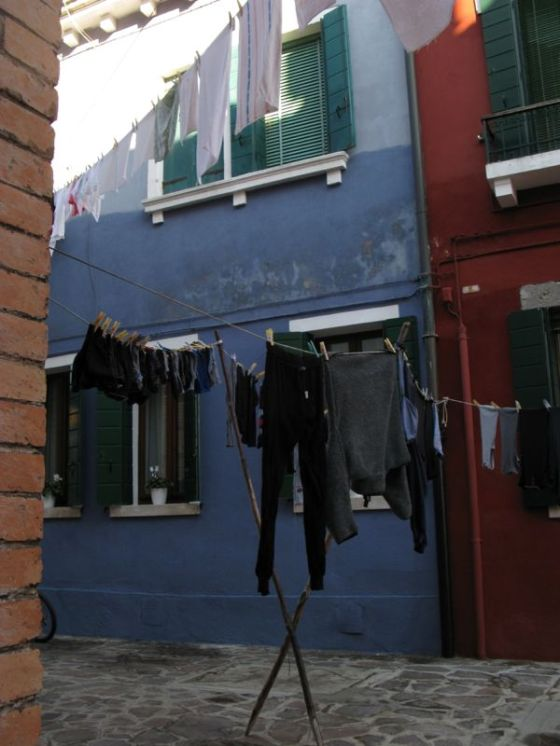 Burano washing lines