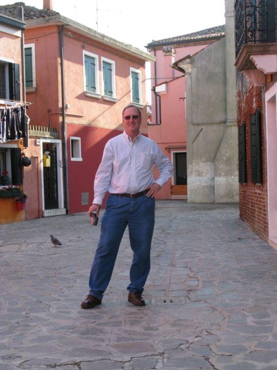 Dave in Burano
