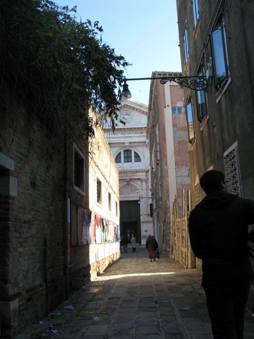 San Francesco della Vigna Approach