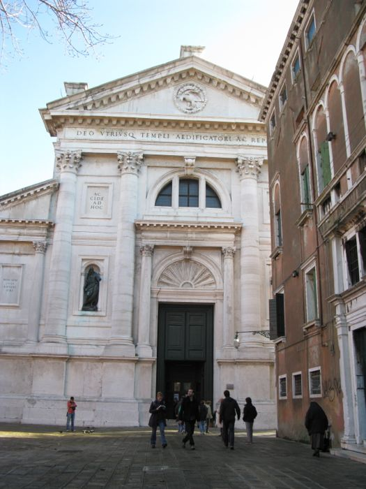 San Francesco della Vigna Exterior