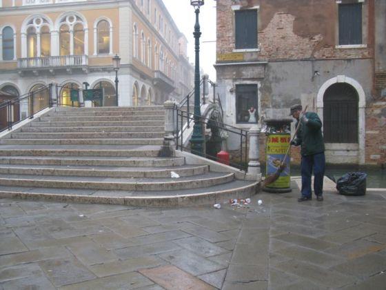 Venice street sweeper