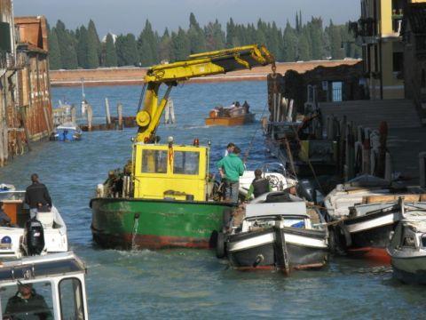 Venice utility boats