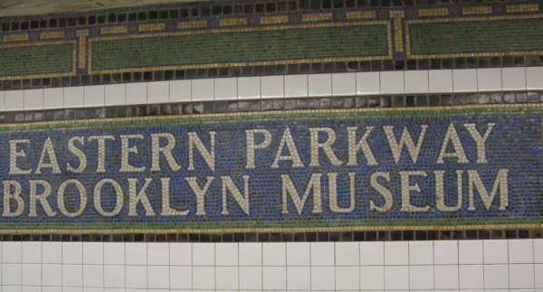 Subway Tile Sign Brooklyn
