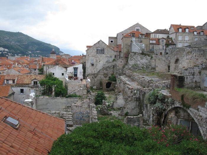 City Walls some ruins