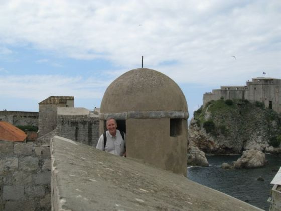 Dave on City Wall_1