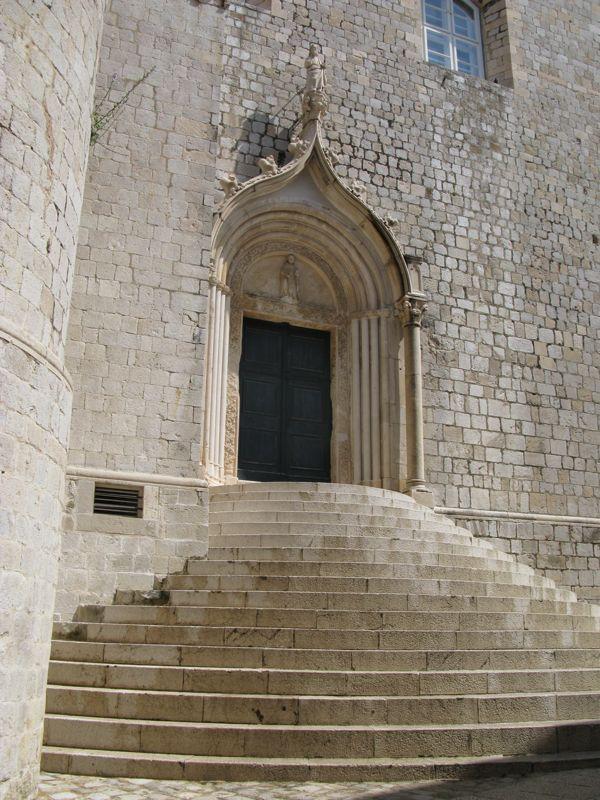 Dominican Monastery Steps_below