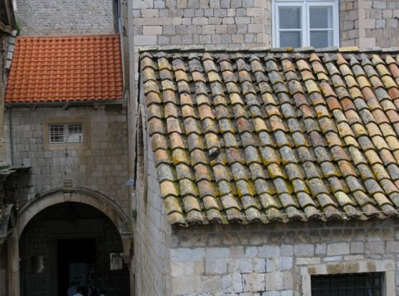 Dubrovnik City Wall_13tile roof