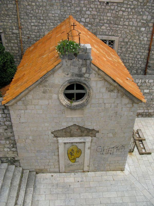 Dubrovnik City Wall_5 closedchurch