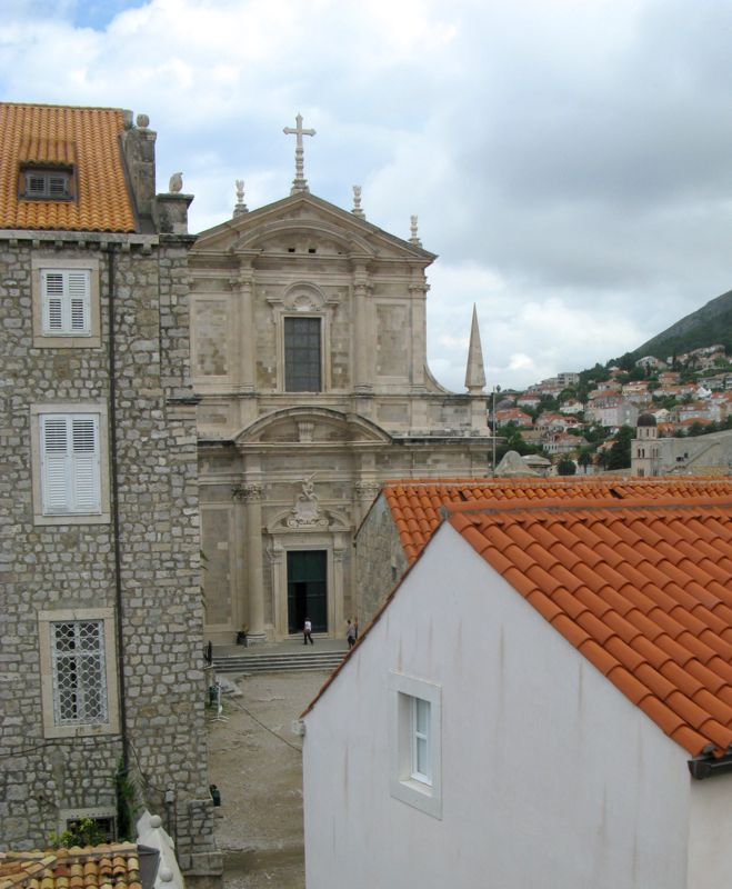 Dubrovnik City Wall_7church above