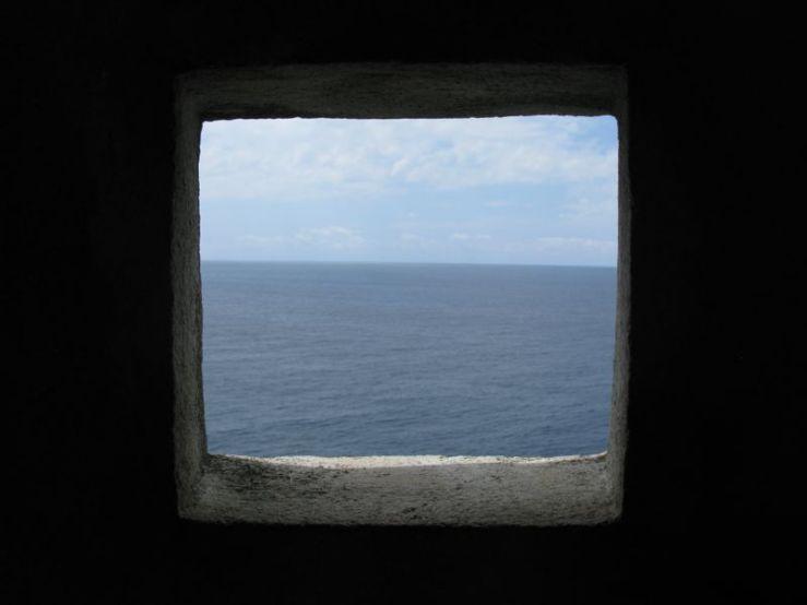 Dubrovnik City Wall_Adriatic Sea Window