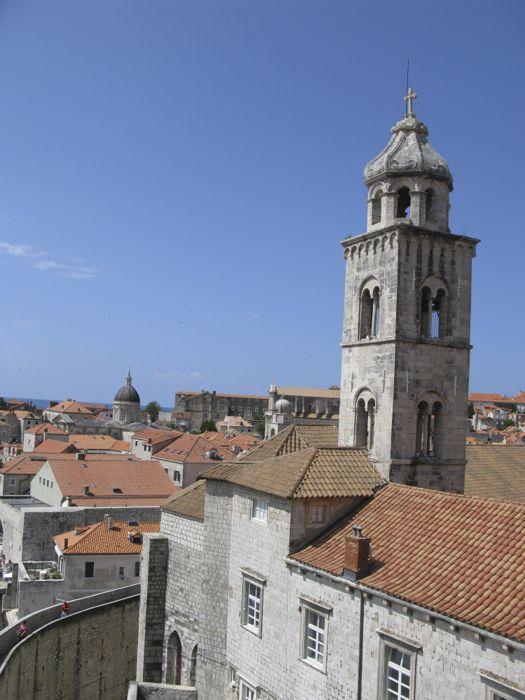 Dubrovnik City Walls Three Towers