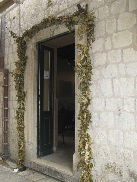 Dubrovnik Doorway