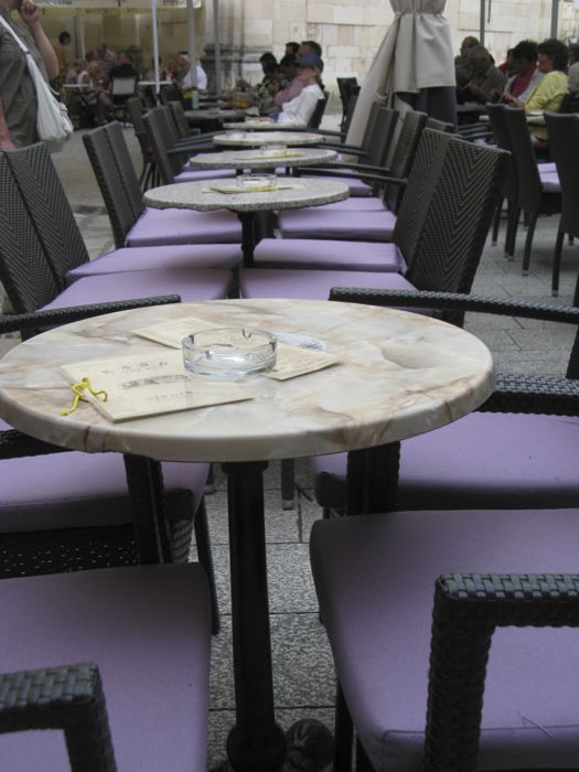 Dubrovnik Outdoor Cafe