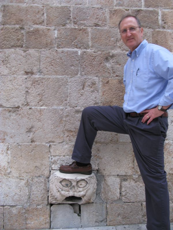 Dubrovnik_10 foot on stone