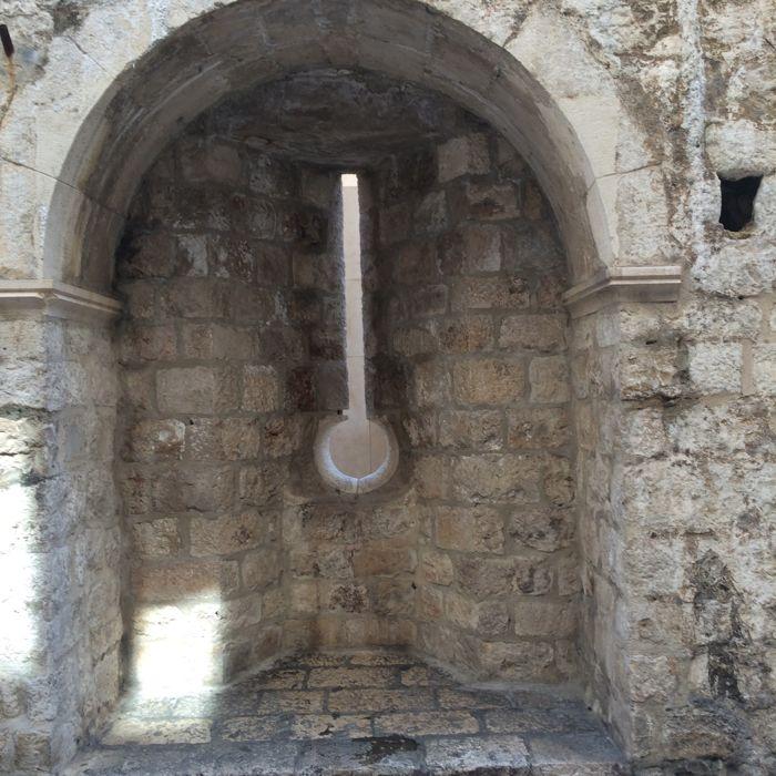 Dubrovnik_Keyhole City Wall