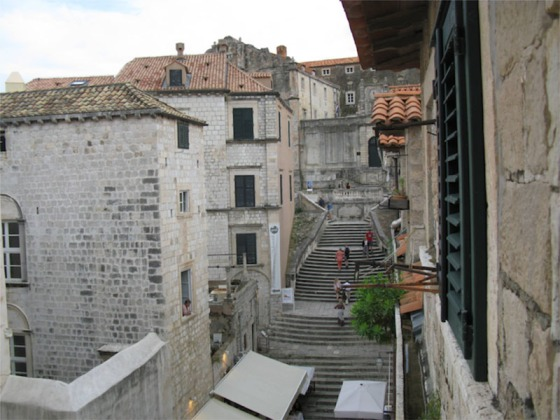 Dubrovnik_Looking right from our window