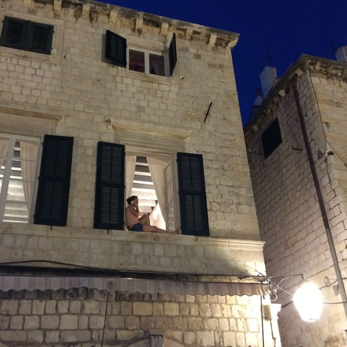 Dubrovnik_Placa Teenager