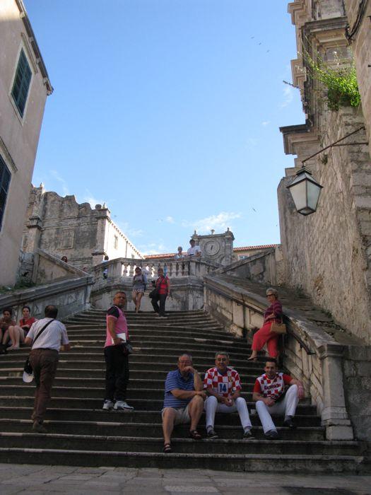 Dubrovnik_Stairs to St. Ignatius