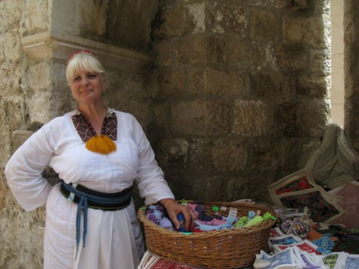Embroidery Seller Dubrovnik