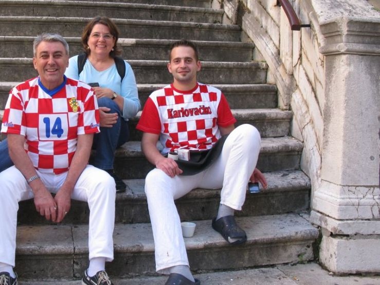 ESe with Croatian Fans