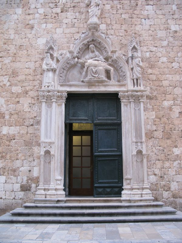 Francisan Monastery Doorway