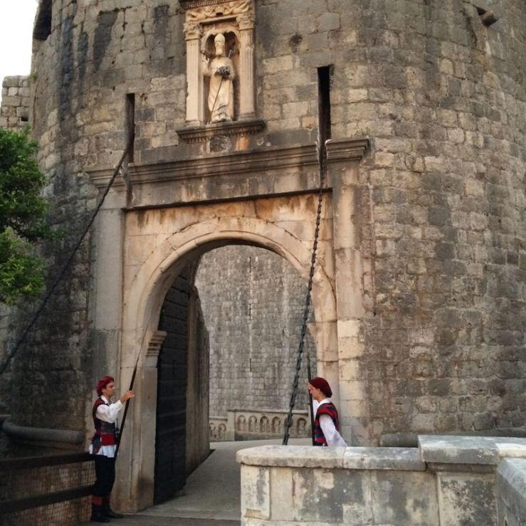 Pile Gate Guards