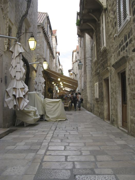 Prijecko Street Dubrovnik