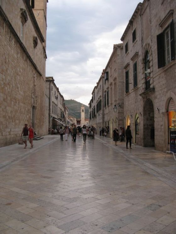 stradun late evening