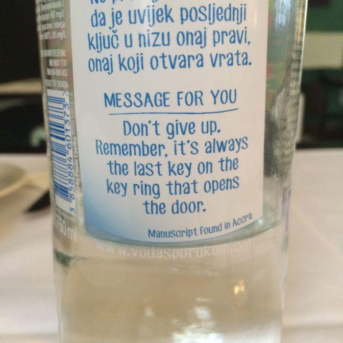 Bistro Appetit_Split Water Bottle Wisdom