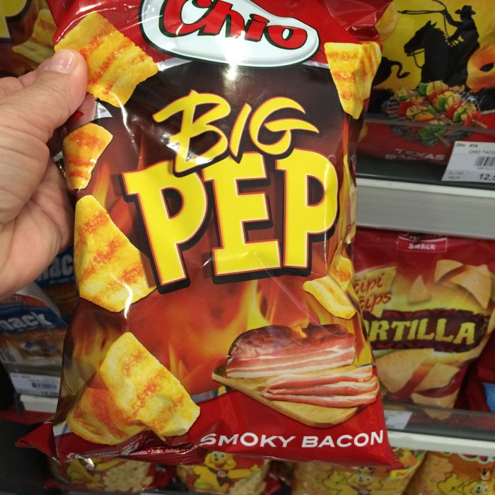 Grocery Store Big Pep Chips