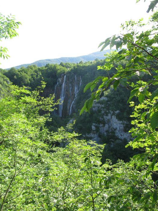 Plitvice Looking Up Canyon1