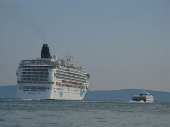 Split Cruise Ship