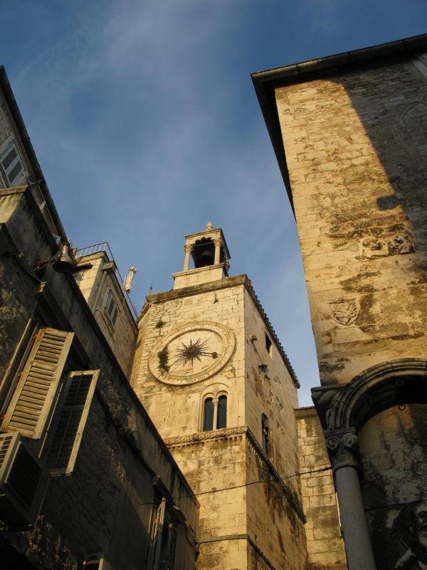 Split_Sundown Clock Tower