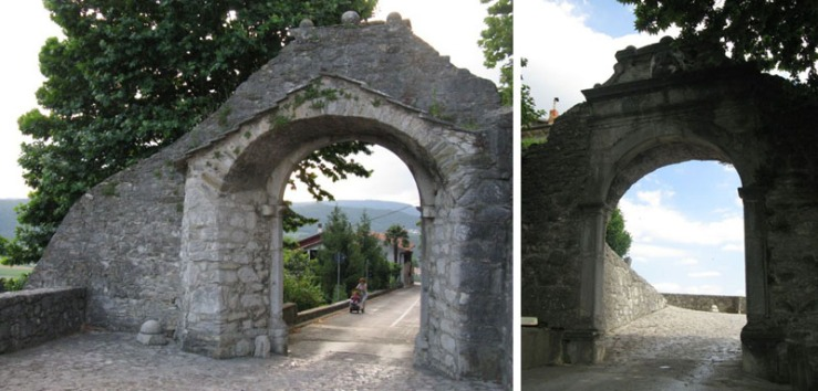 Buzet Big Gate
