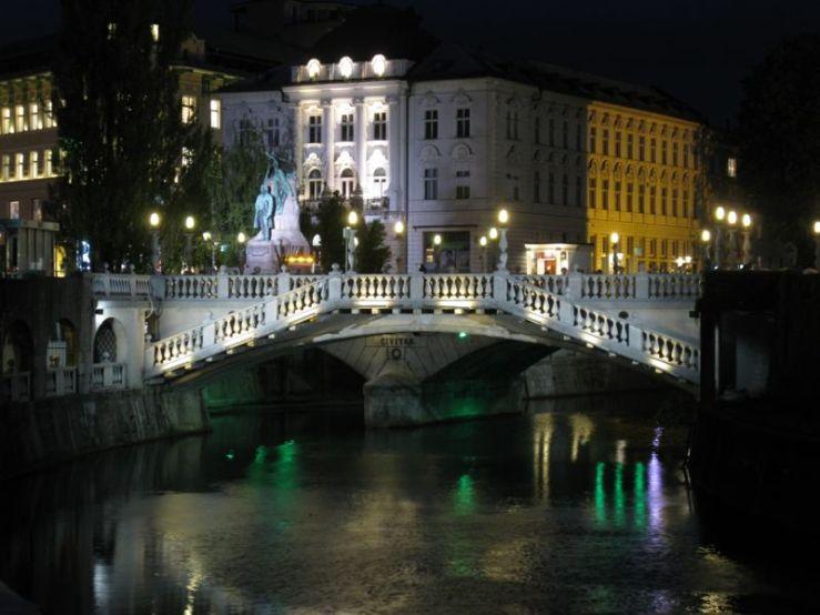 Ljubljana_13 three bridges