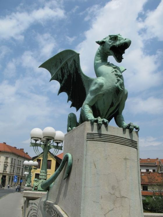 Ljubljana_Dragon Bridge1