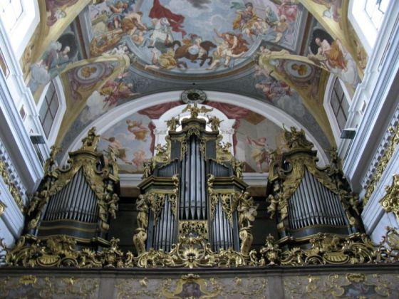 Ljubljana_St Nicholas large organ loft