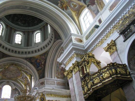 Ljubljana_St Nicholas organ loft