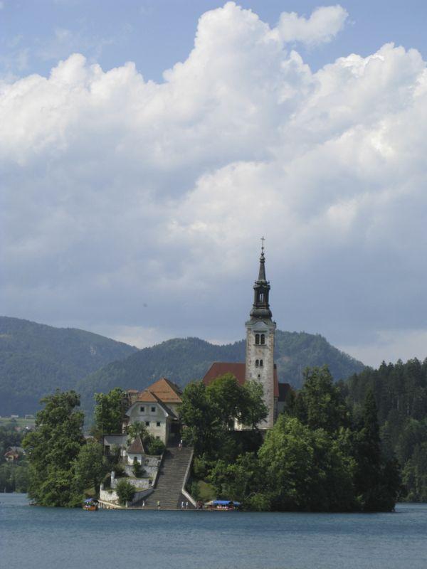 Slovenia_20 Lake Bled Island