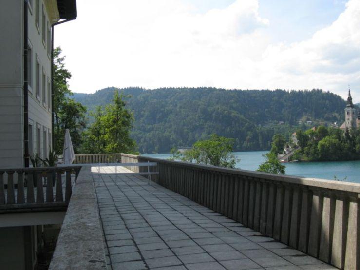 Slovenia_view from Tito's patio