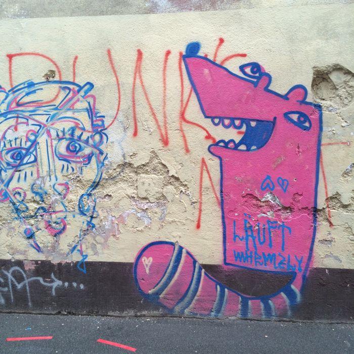 graffitti near university