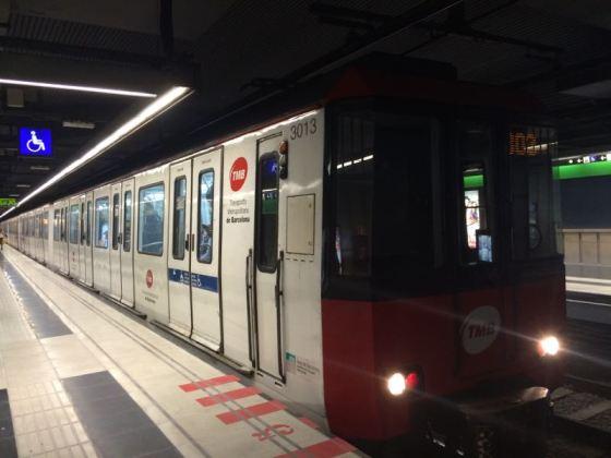 Barcelona Metro Cars