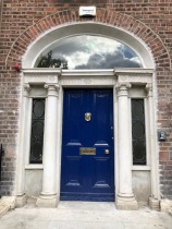 Merrion Square Door 1