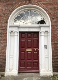 Merrion Square Door 7