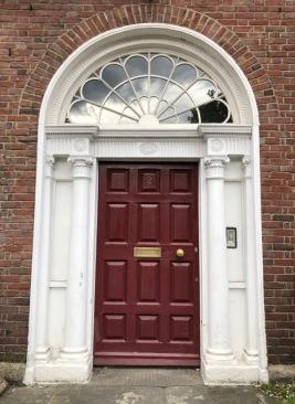 Merrion Square Door 7